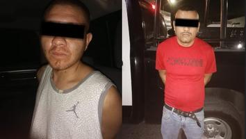 Caen dos con arma y droga en Guadalupe