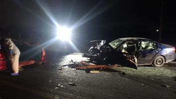 Fuerte choque deja un muerto y 3 heridos en la carretera a Laredo