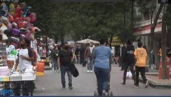 Aumenta movilidad en el Centro de Monterrey pese a incremento de contagios por Covid-19