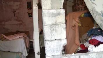 Pide apoyo para señora en condición de abandono y mal nutrición