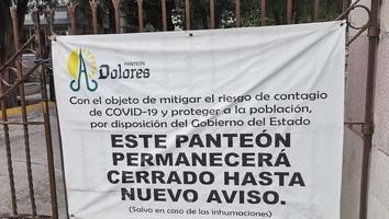 Cerrarán panteones para evitar aglomeraciones por el Día de Muertos ante Covid-19