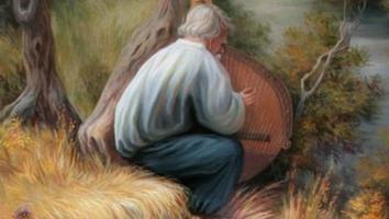 ¿Crees tener la suficiente habilidad para encontras las 6 caras en esta pintura?