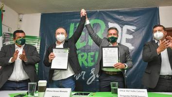 Partido Verde registra a Alfonso Durazo como candidato a la gubernatura de Sonora