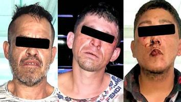 Detienen a tres por robar vehículo en la colonia El Campanario