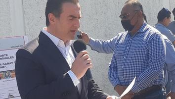 Denuncia Adrían de la Garza a Samuel García por negocios ilícitos con la delincuencia organizada